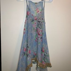 Free People Floral Dress.